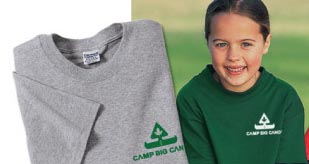 Camp Big Canoe Clothing