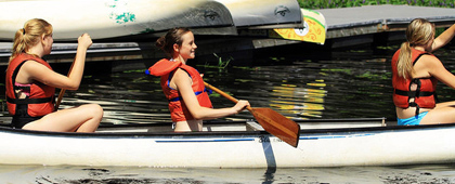 What We Offer - Camp Big Canoe Programs